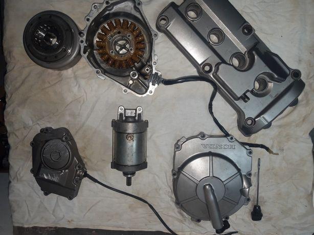 Honda hornet600 розборка по запчастям двигун мотор коробка грм клапана