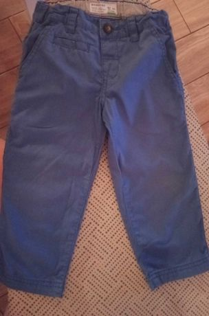 Spodnie materiałowe Reserved 92 +koszulka
