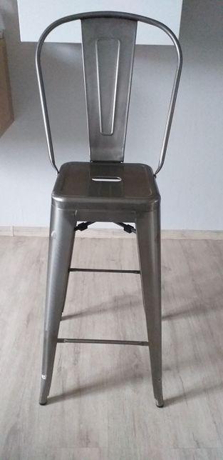 Krzesło,hoker z metalu.Cena sklepowa 220
