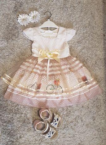 Нарядне плаття для маленьких принцесів