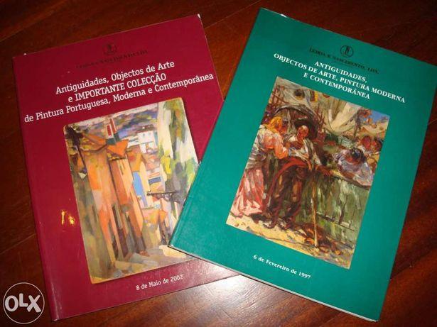 Antiguidades, Objectos de arte, pintura moderna e contemporânea