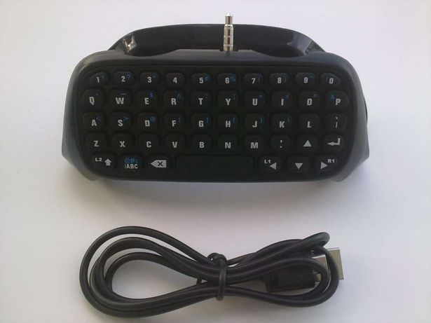 Mini teclado / Chatpad para Comandos PS4