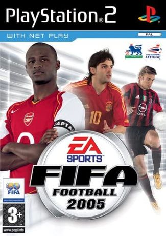 Jogo Ps2 Fifa 2005
