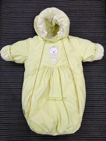 Детский зимний комбинезон 62 размер / Дитячий зимовий комбінезон