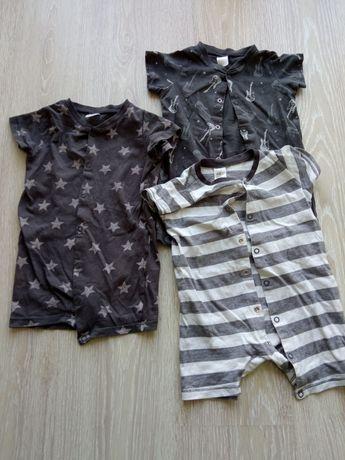 Rampersy/piżamki h&m rozmiar 74