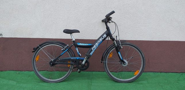"""Pegasus Niemiecki Rower Młodzieżowy 24"""" Biegi"""
