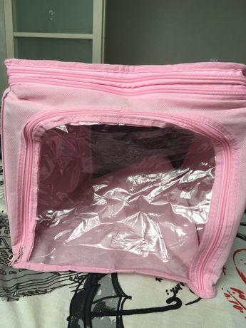 Органайзер для вещей / игрушек розовый