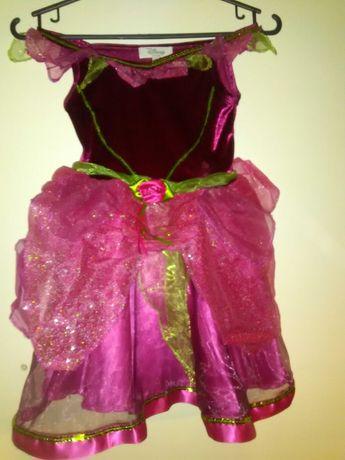 Sukienka księżniczką różyczka 3-4 lat