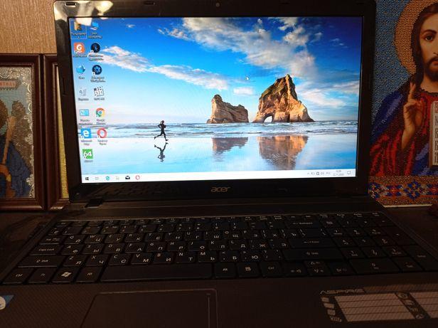 В рассрочку без % ! Ноутбук Acer 500gb windows 10 в хорошем состоянии!