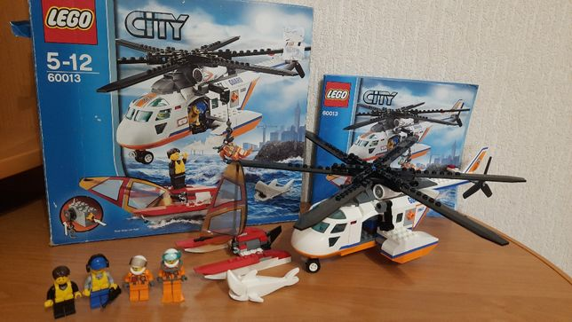 Lego City 60013 Вертолет береговой охраны Лего Сити