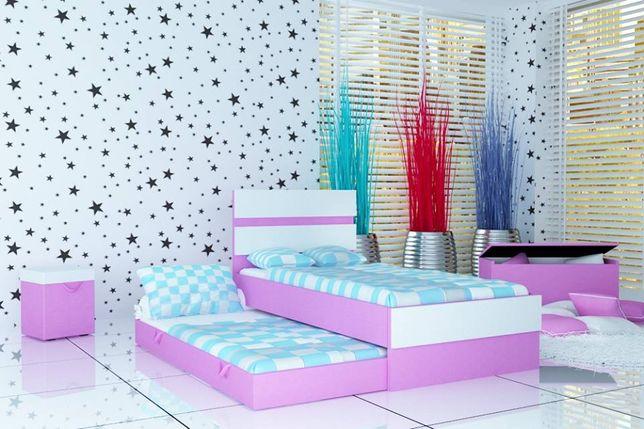 Nowoczesne łóżko piętrowe dla chłopca i dziewczynki, łóżko dziecięce