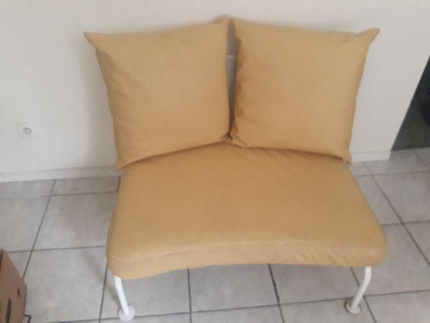 Sofa żółta 2 osobowa OFERTA ważna do końca tygodnia