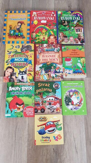 Książeczki Zestaw książek dla dzieci