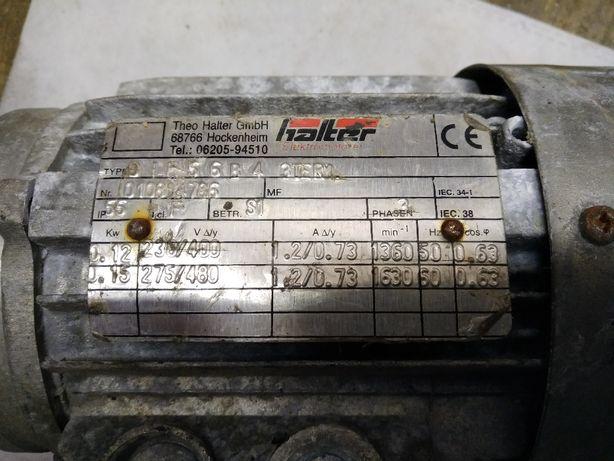 silnik trójfazowy 0.12kW 230/400V