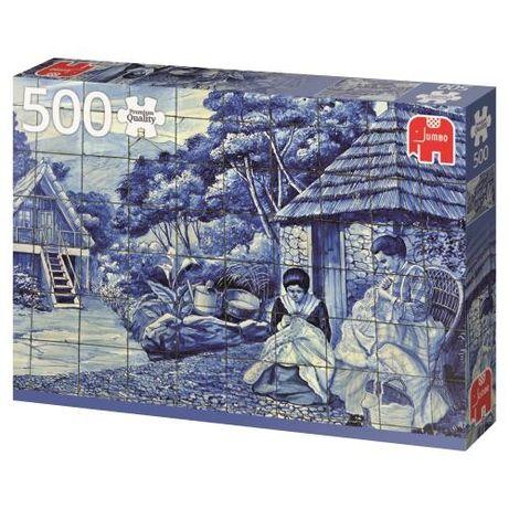 Puzzle Painel Azulejos Funchal 500 peças