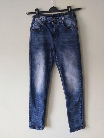 Chłopięce spodnie jeansy 146 Reporter Young