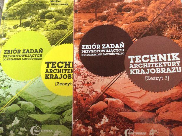 Zbiór zadań do egzaminu zawodowego technik architektury krajobrazu