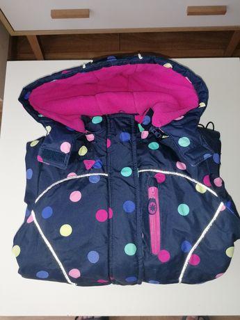 Piękna zimowa kurtka dziewczęca rozm 122 Smyk