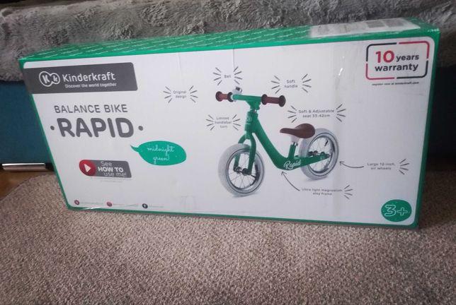 Rowerek biegowy kinderkraft rapid