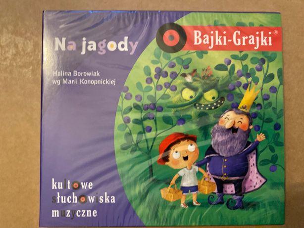 Na jagody, wg Marii Konopnickiej, Bajki Grajki (słuchowisko na CD)