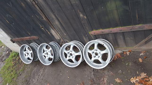 """Alufelgi 17"""" 8.5J 9.5J 5×120 BMW e36 e34 e46 zimowy gruz"""