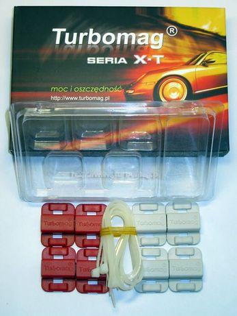 Magnetyzery Turbomag XT-6 wersja do silników BENZYNOWYCH i LPG + olej