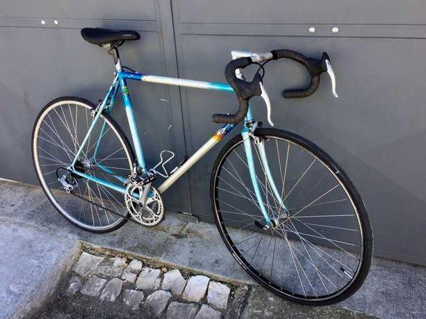 Bicicleta de ciclismo clássica