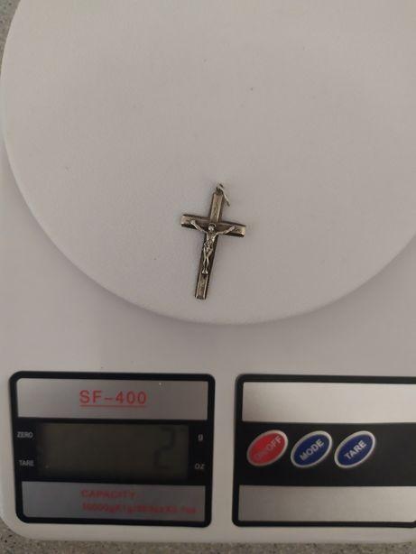 Срібний хрестик 925