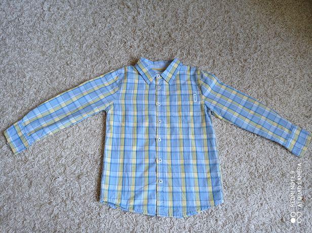 Koszula chłopięca r.122 marki 5.10.15