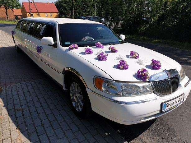 Wyporzyczalnia Limuzyna Leszno wynajem wieczór pańeński auto do ślubu