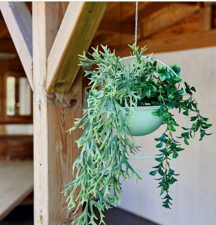 Floreira suspensa para plantas