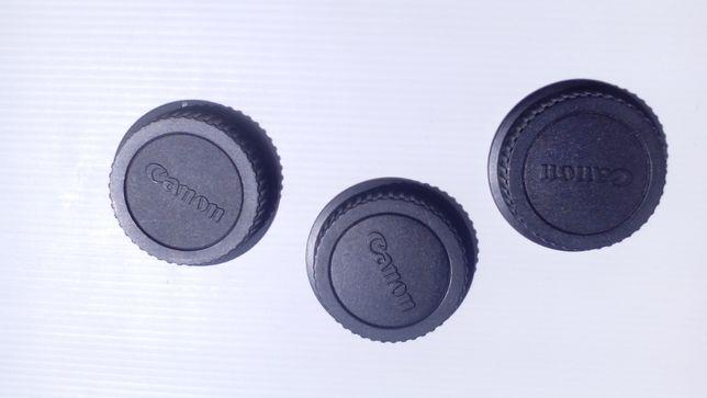 Tampas traseiras para lentes/objetivas - Canon