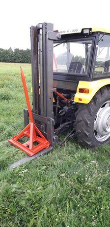 Maszt wieża podnośnik prowadnica widlak do ciągnika traktora na tuz