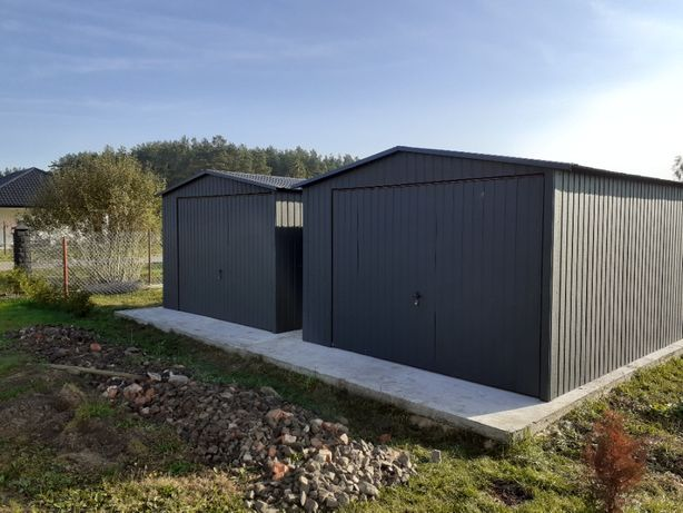 Blaszak 3x3 schowek garaż blaszany schowek na budowę producent