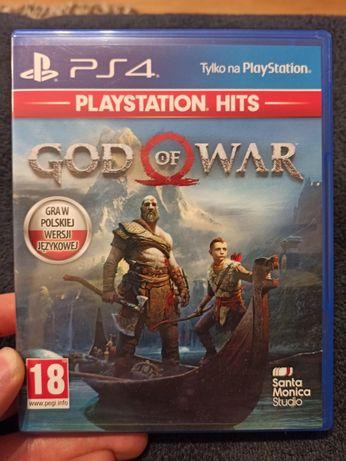 God of War - polska wersja językowa - na PS4 - w idealnym stanie