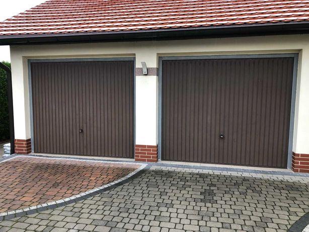 Brama uchylna Hormann 2500x2125 brąz RAL8028 - z demontażu