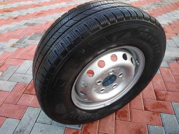 Sprinter Зима 1шт покрышка с диском KFZ 225 70 R15c Kleber Румыния 6mm