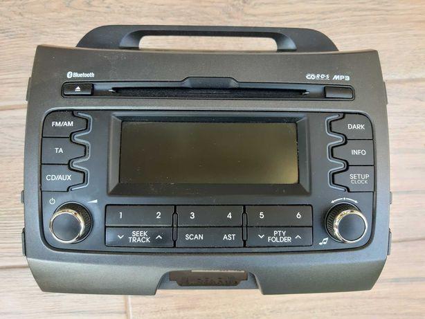 Radio samochodowe kia sportage 3 z ramką