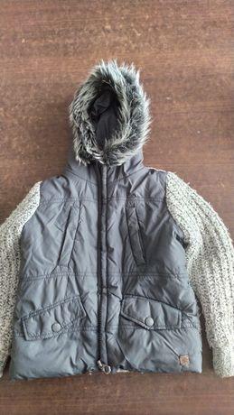 Kurtka zimowa chłopięca firmy Zara.