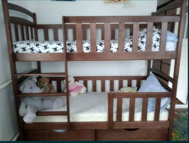 Купить двухъярусную кроватку, двухъярусная кровать трансформер