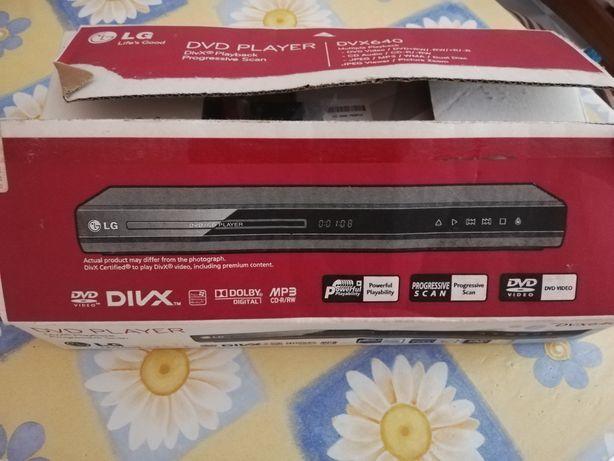 DVD LG dvx640 novo
