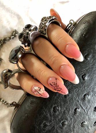Покрытие ногтей гель-лак экспресс маникюр