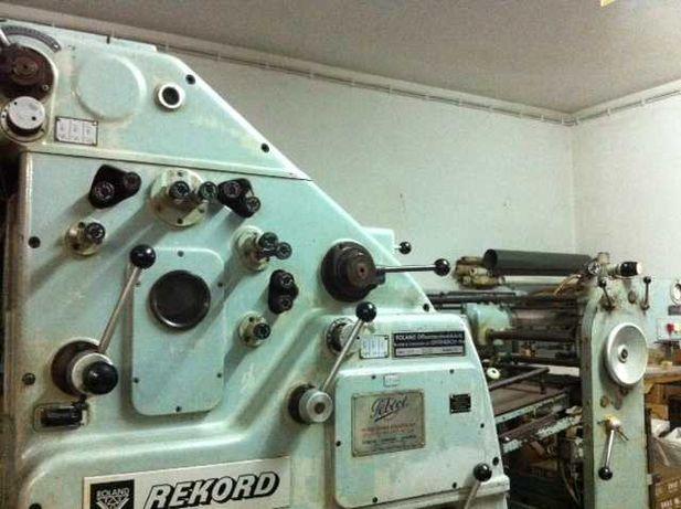 Máquina de Offset Roland Rekord 2 cores