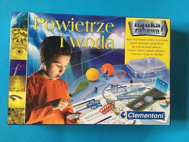 Powietrze i woda - Clementoni- zestaw nauka i zabawa - nowy