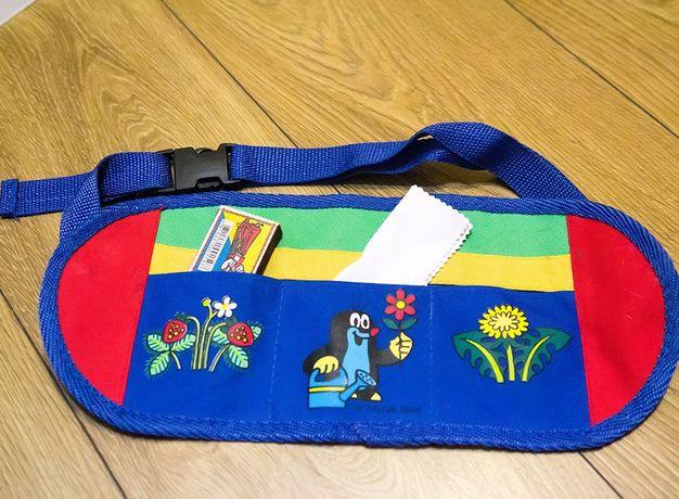 поясная сумка плоская детская пояс с карманами детский дёшево Чехия