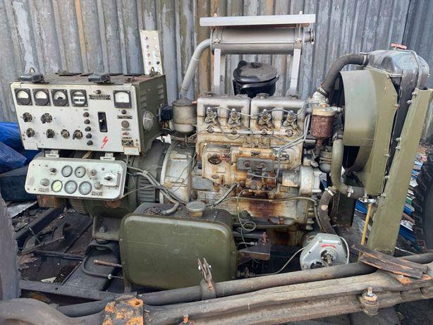 agregat prądotwórczy spalinowy z wojska