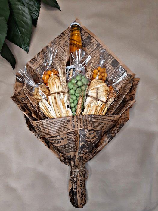 Съедобные букеты, мужские, сладкие, фруктовые, букеты из конфет Киев Киев - изображение 1