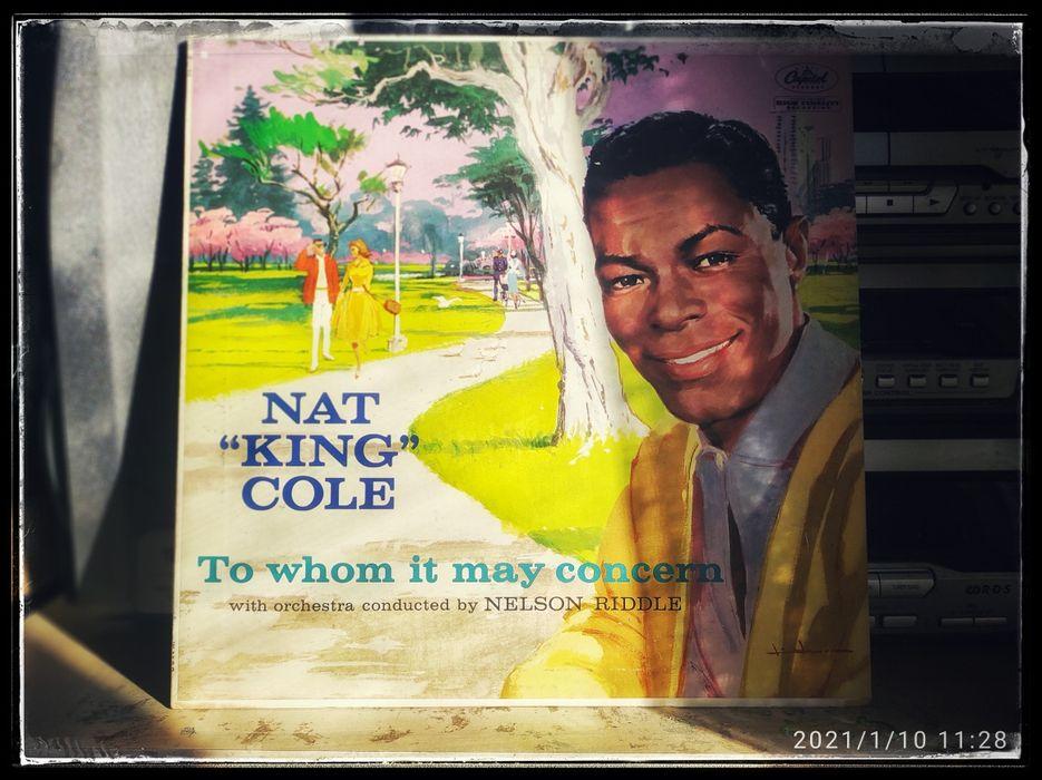 "Nat ""King"" Cole - To Whom It May Concern vinyl винил Одесса - изображение 1"