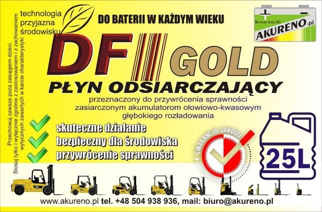 Płyn odsiarczający, do regeneracji akumulatorów 25l DF-GOLD