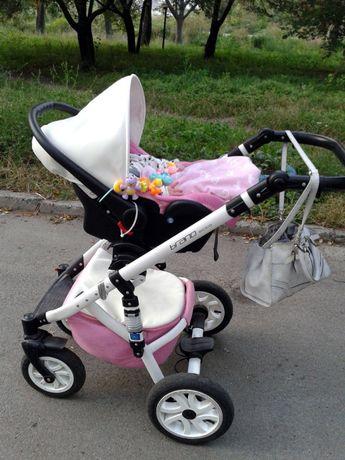 детская коляска 3в1 Riko Brano Ecco коляска Рико Брано Эко